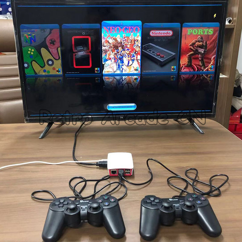 2 sets/lot Super TV Game Box 16000 in 1 with two USB joypad HDMI output, Arcade game family playstation for Children