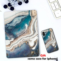 NEW Marble Magnet Flip Cover case For iPad Pro 9.7 Air 10.5 11 10.2 12.9 Mini 2 3 4 5 2019 Tablet Case For ipad 9.7 2017 2018