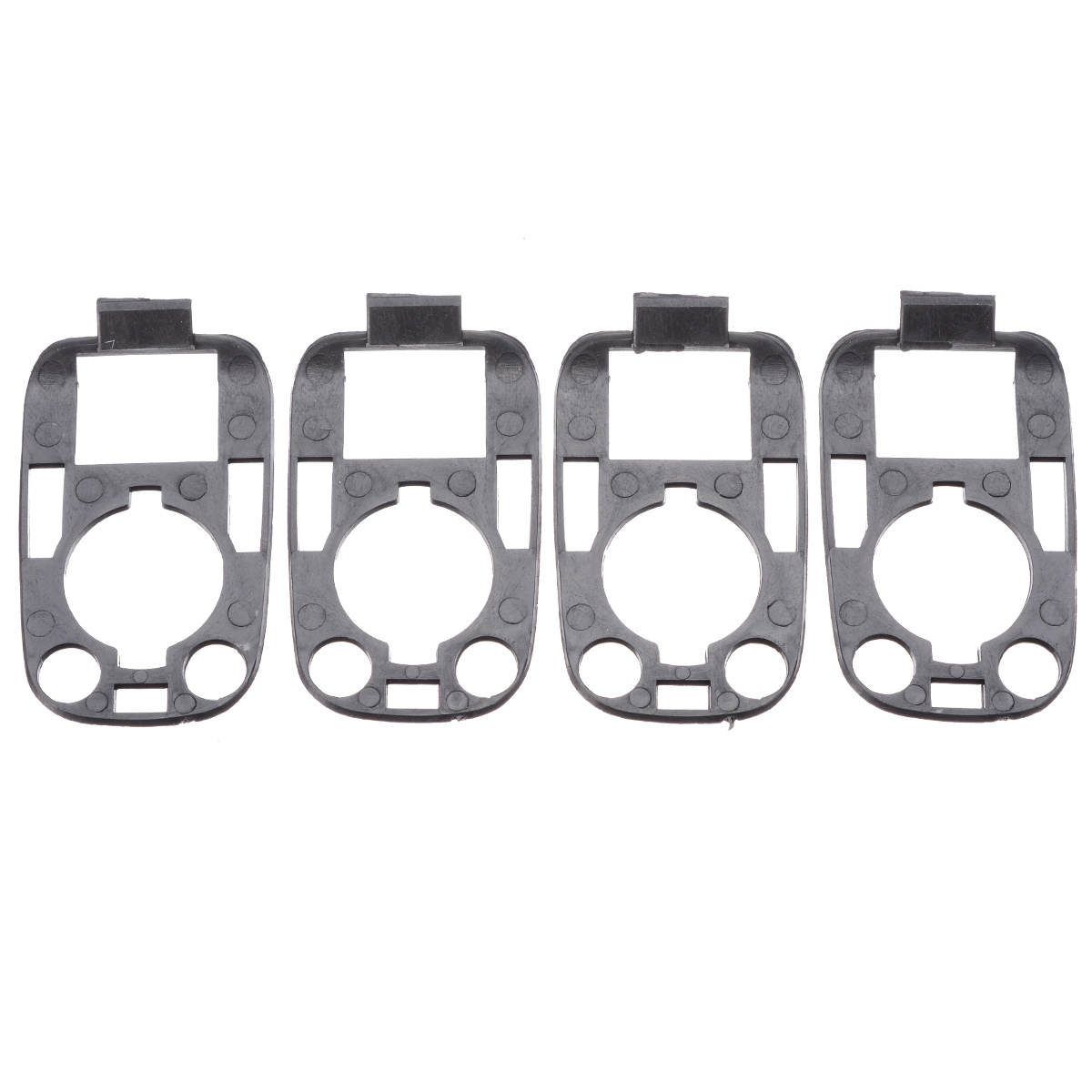 MOTORCYCLE SEAT STRAP BUCKLES END CAPS  KIT NEW