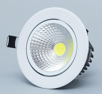 Dimmable Led downlight light COB Ceiling Spot Light 3w 5w 7w 12w 85-265V ceiling recessed Lights Indoor Lighting