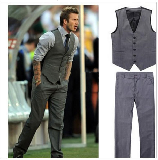 Aliexpress.com : Buy HOT Beckham jacket with pant Men's Casual ...