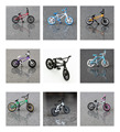 1 UNIDS (color Al Azar) Flick Trix dedo Mini bici de BMX juguetes para niños y niños, modelo de bicicleta aparatos de regalo divertido de La Novedad