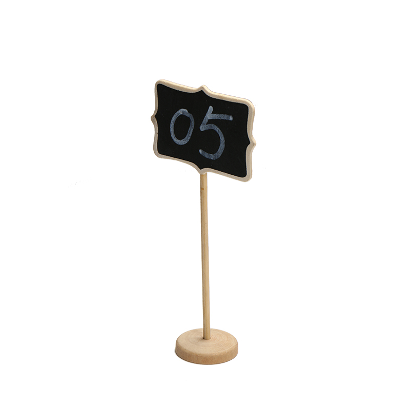 10 Vertical Mini Wooden Message Blackboard Small Black Board Chalkboard   New Wedding Party Decor Festa Message Paint Wood Board