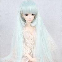 Immediatamente spediti BJD/SD bambola parrucca bambola supía/chloe blu capelli lunghi filo ad alta temperatura 1/3 1/4 1/6 high qualità