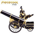 2017 ICONX Piececool 3D Metal Puzzle Cars Toy / Briqnuedos P080KG Artilleryman Style Assembly Puzzle 3D Model Toys For Children