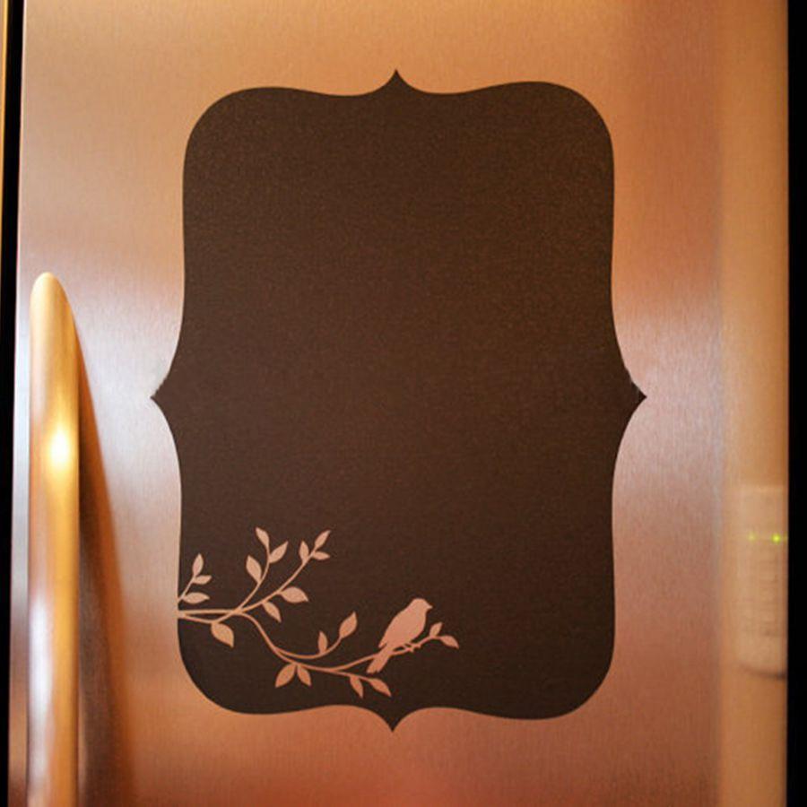 Home Decor Chalkboard: Chalkboard Vinyl Wall Decal Chalkboard Fridge Decal For