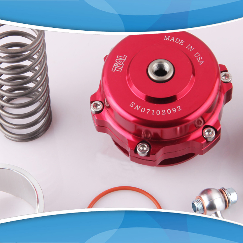 ФОТО 50MM Turbo TIAL Blow Off Valve with spring 0.4 bar and 1.3 bar turbo blow off valve