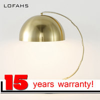 LOFAHS Table Light Home Luxury Bedside TDesk Lamp For Bedroom Decorative Table Lamp Marble Base Metal