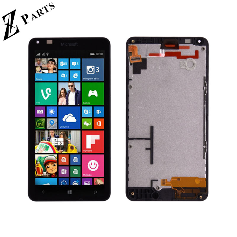 Original For Microsoft Nokia Lumia 640 LCD Display with Touch Screen Digitizer Assembly with frame Free ShippingOriginal For Microsoft Nokia Lumia 640 LCD Display with Touch Screen Digitizer Assembly with frame Free Shipping