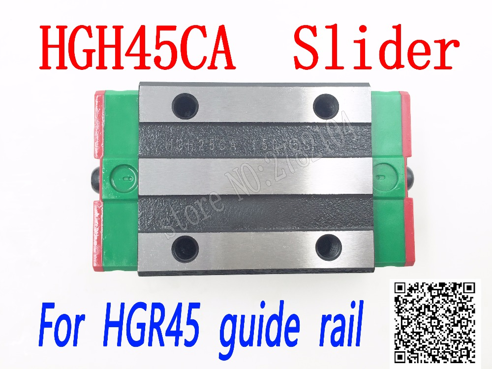 High quality HGH45CA HGW45CC slide block match use HGR45 linear guide HGH45 CA head guide for linear rail CNC diy parts стоимость
