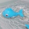 1 Pc Plástico Forma Baleia Esguichando Banho Banho Do Bebê Da Criança Brinquedo Piscina