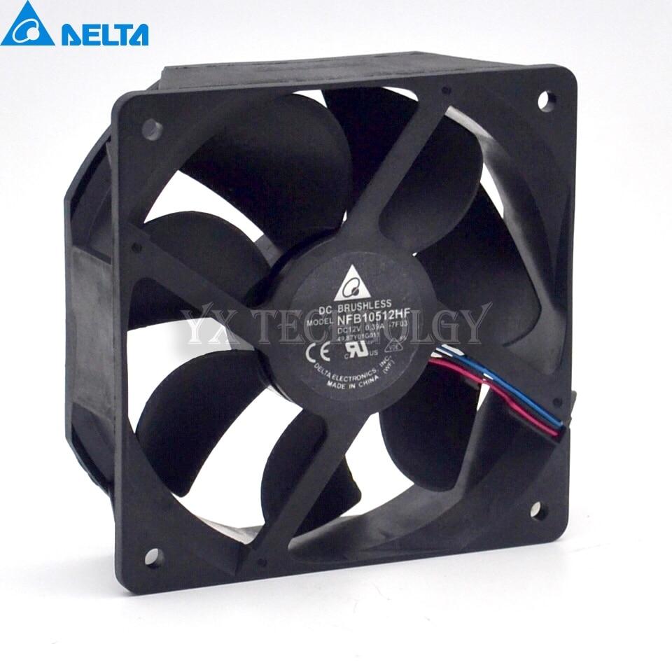 Free shipping original Delta Cooling fan NFB10512HF-7F03 49.87Y01G001  12V 0.39A  3 wires  projector fan 5pcs/lot cooling fan for ml370g4 224977 001 original 95