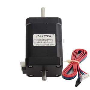 Image 3 - Free shipping hybrid stepper motor nema 17 motor 60mm (1.7A, 0.73NM, 60mm, 4 wire) 17HS6401S for 3D printer cnc