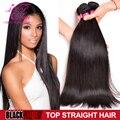 8A Brazilian Virgin Hair Straight  Mink Brazilian Hair Weave Bundles 3 Bundles Human Hair Bundles Brazilian Straight Virgin Hair
