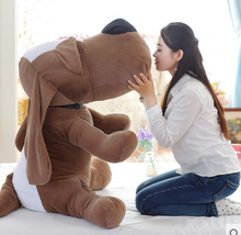 big plush big nose and big ears dog toy huge dog doll gift about 160cm