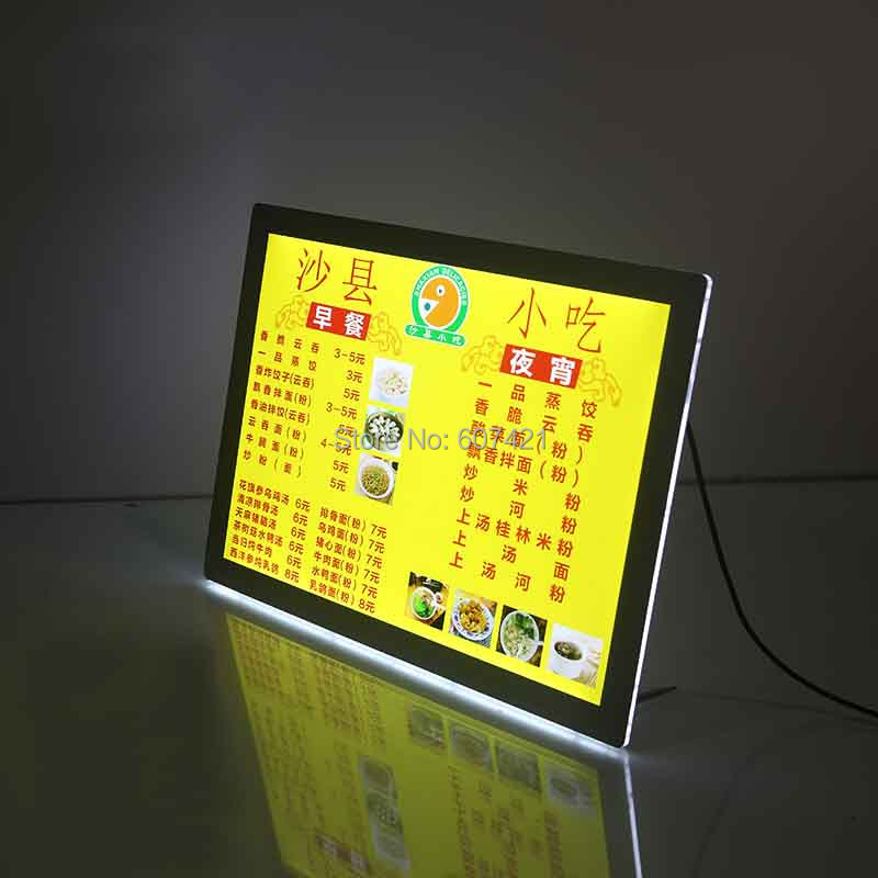 A4 Single Sided Magnetic Front Panel Lightbox Poster Frames,Crystal Led Light Box Display и в шапошников справочник web мастера xml isbn 5 94157 049 x
