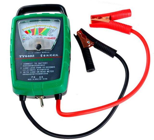 Измеритель емкости аккумулятора автомобильный Электрический аккумулятор для транспортных средств тестер батареи тестер 2 В/6 в/12 В