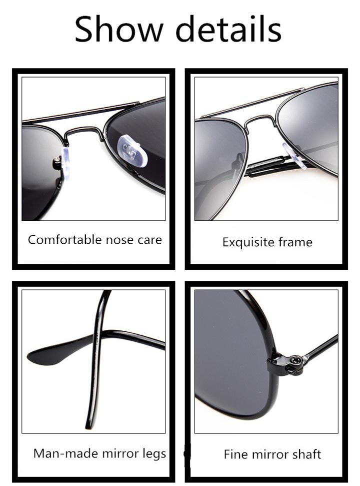 ASUOP2017 new men and women sunglasses pilots glasses high-end brand popular sun glasses goggles UV400 sunglasses sunglasses (3)