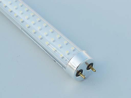 Transparent SMD LED T8 Tubes;90-240Vac input;1200mm long;324pcs 3528 SMD LED;20W;1500lm;CoolWhite(4000-4500k)