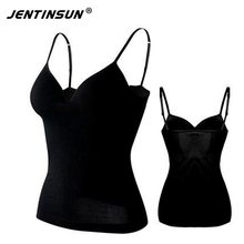 Crop Tops Women 2017 Summer New Womans Backless Deep V-Neck Bralette Tanks Top Cropped Padded Spaghetti Strap Harness Tops