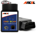 ANCEL Mini ELM327 V1.5 Bluetooth Advanced OBDII OBD2 ELM 327 Auto Car Diagnostic Scanner code reader scan tool For Android PC