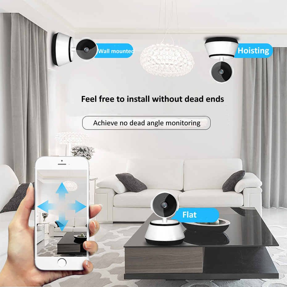 Image 3 - Wsdcam 720P IP Camera Wireless Home Security IP Cameras Surveillance Camera Wifi Night Vision CCTV Camera Baby Monitor Mini Cam-in Surveillance Cameras from Security & Protection