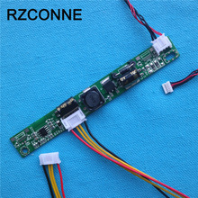 Universal LED Backlight Inverter driver board booster Input 12V Output 18V-55V for 15-24 inch LCD Monitors with 6pin cable