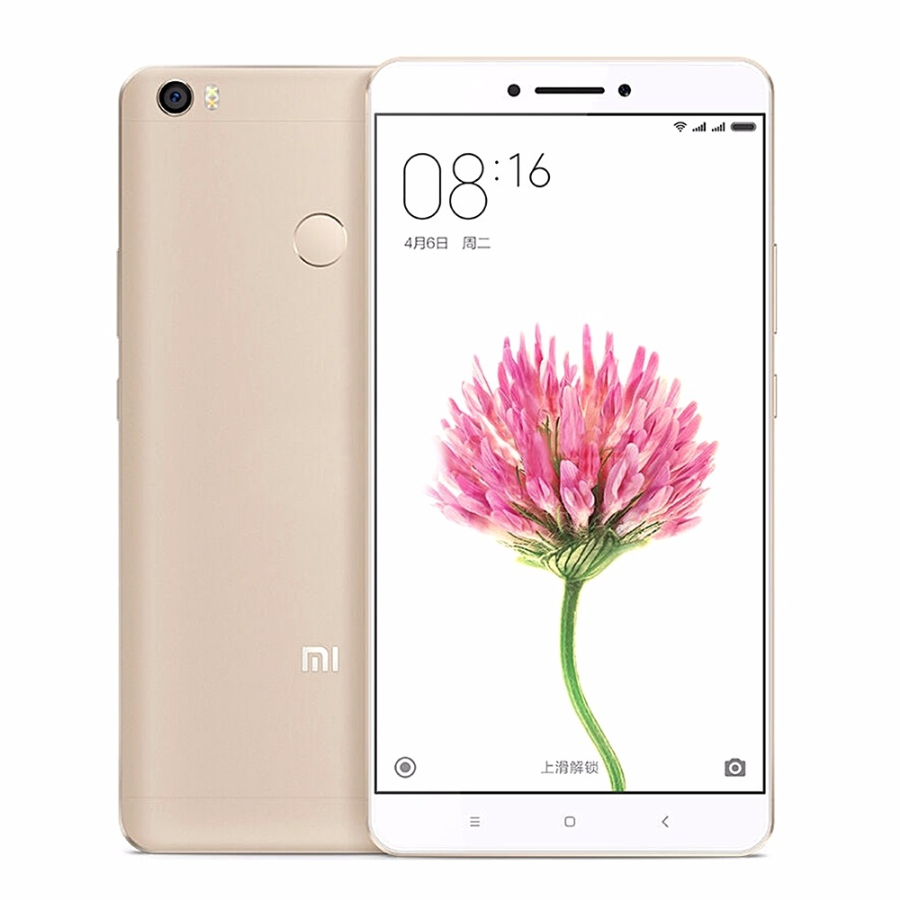 Original Xiaomi Max 6.44 inch RAM 3GB ROM 64GB 4G Phone Call PC Tablets Snapdragon 652 Otca Core MIUI 8 OS, 4850mAh 16MP