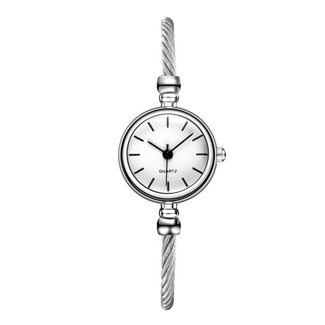 Exquisite Stainless Steel Watches Women Top Brand Luxury Casual montre femme Clo