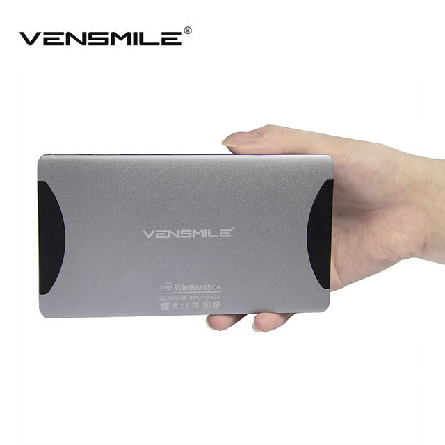 Vensmile W10 Intel Mini PC TV Box Quad Core 1.33Ghz CPU 2GB+64GB Windows 8.1 OS mini pc wintel box mini computer