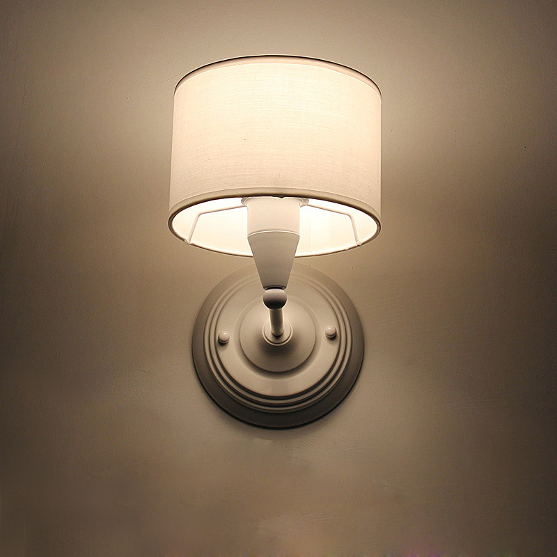 ???( ? )Creative Bedside Wall ???( ? ) Sconce Sconce Modern Brief Fabric Wall ? Lamp Lamp Hotel ...