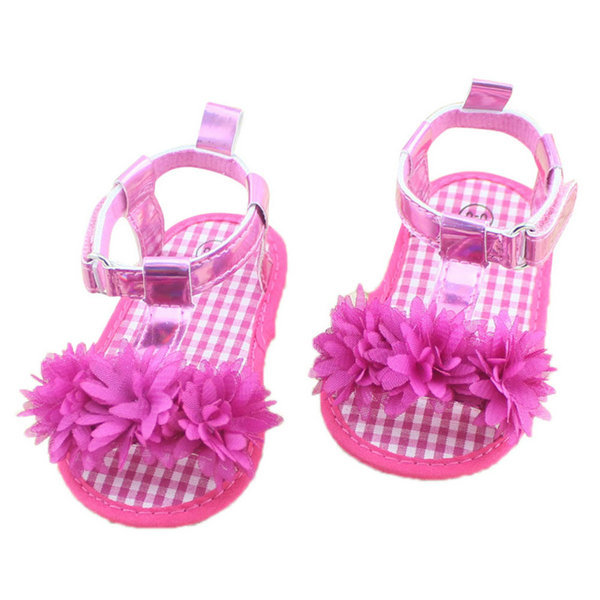 Summer Floral Baby First Walkers Baby Shoes Soft Bottom Toddler Anti-slip Bottom Shoes Infant Girls Shoes New Arrival