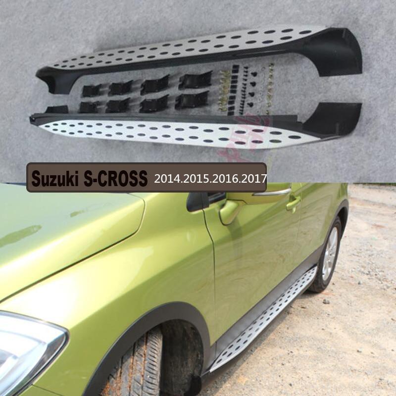 ᗑ】Para Suzuki s-cross 2014.2015.2016.2017 car Correr tableros paso ...