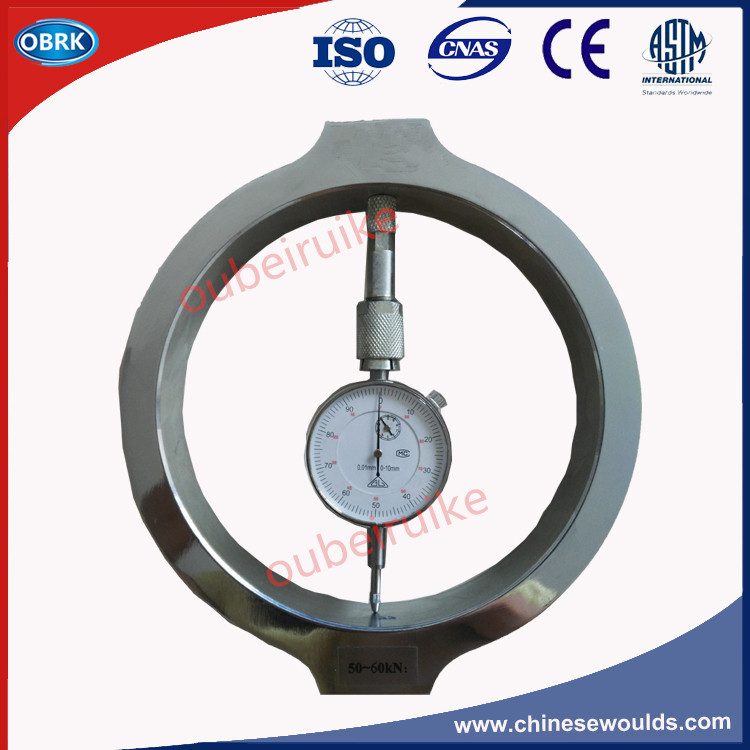 50-60KN Proving Ring For Compression Machine Calibration