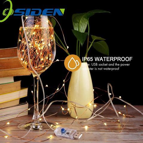 Led String Light 5/10M/20M 50/100/200LED USB 8ModeRemote Control Lights Fairy garlands for Wedding Christmas Holiday Decor lamps Karachi