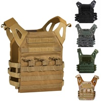 CQC 1000D Molle System JPC Tactical Plate Carrier Combat Vest Hunting Military CS Paintball Tactical Molle Modular Airsoft Vest