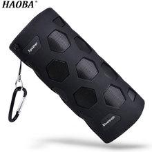 HAOBA NFC Беспроводной Bluetooth динамик с Powerbank водонепроницаемый портативный открытый мини Колонка коробка стерео громкий динамик для телефона