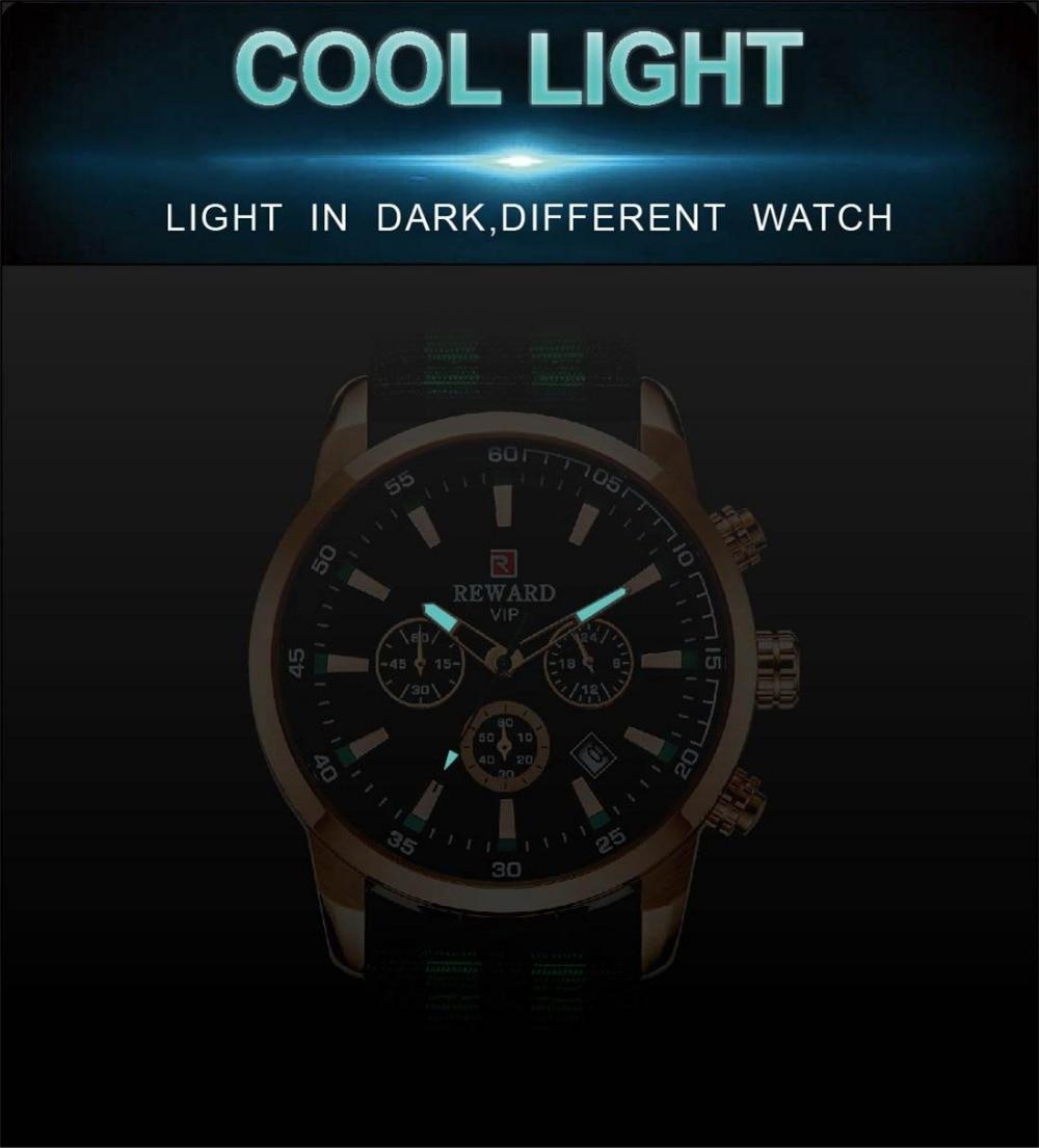 Quartz Men Watches Fashion Canvas Chronograph Watch Clock for Gentle Men Male Students Reloj Hombre free shipping 2019 (5)