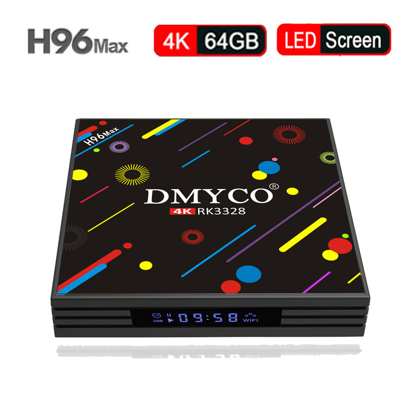 H96 MAX H2 Android 7.1 TV Box 4GB 64GB RK3328 Quad Core 4K VP9 HDR10 USB3.0 WiFi 2.4G/5G Bluetooth 4.0 h96 max + Media Player satxtrem h96 max h2 android 7 1 tv box 4gb 64gb rk3328 quad core 4k vp9 hdr10 usb3 0 wifi bluetooth 4 0 media player pk x92 x96
