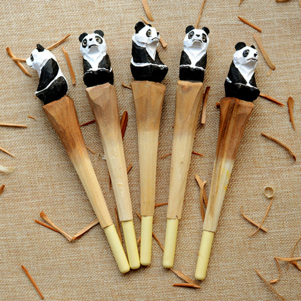 ballpoint Pen School Office Stationery gel pen kawaii panda animal roller ball pens kawaii business birthday gift ballpoint pen school office supplies cute animal roller ball pens high quality kawaii birthday business gift send children 001