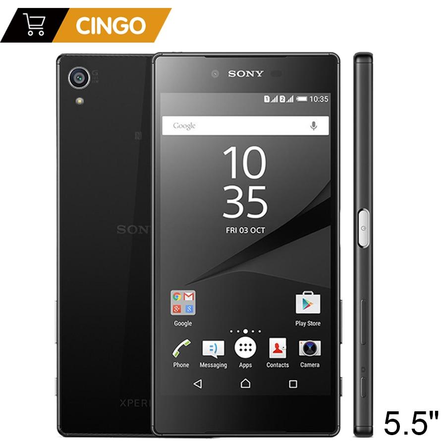 Débloqué Original Sony Xperia Z5 Prime E6883 3 GB RAM 32 GB ROM Double SIM 5.5
