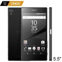 Original Unlocked Sony Xperia Z5 Premium E6883 3GB RAM 32GB ROM Dual SIM 5 5 Octa