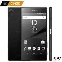 Original Unlocked Sony Xperia Z5 Premium E6883 3GB RAM 32GB ROM Dual SIM 5.5 Octa Core IPS 23MP GSM Android LTE Mobile Phone
