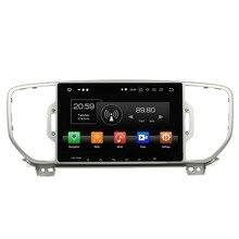 Octa Core 2 din 9″ Android 8.0 Car Stereo DVD Player for Kia Sportage 2016 4GB RAM Car Radio GPS WIFI Bluetooth 32GB ROM USB DVR
