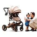Novo Luxo Chegada Infantil Stroller Alta Landscap Bi-Direção de Carro Do Bebê Bebê Carrinho de Bebé Carrinho De Bebê Confortável Cariage Carrinho Infantil