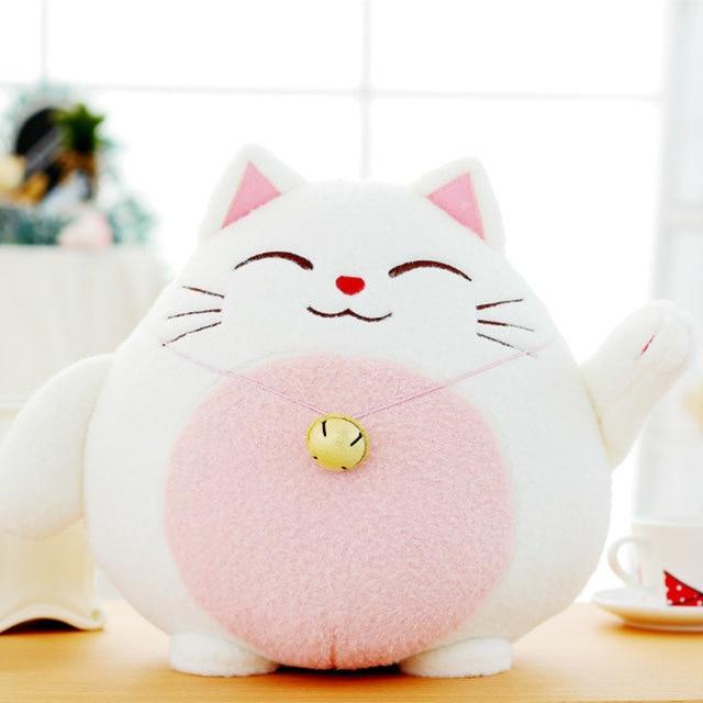 Janpan Anime Cat Plush Doll Toy Lucky Cat Car Purifying Air Bamboo Charcoal Totoro Panda Stuffed Soft Doll Toy Children Kid Gift