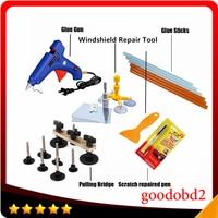 PDR Tools Paintless Dent Repair Tool Glue Gun Dent Remove Bridge Car Scratch Repaire Pen with Windscreen Windshield Repair Kit