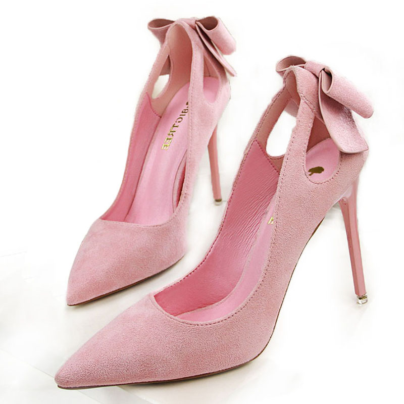 Aliexpress.com : Buy Women Pumps Fashion Butterfly High