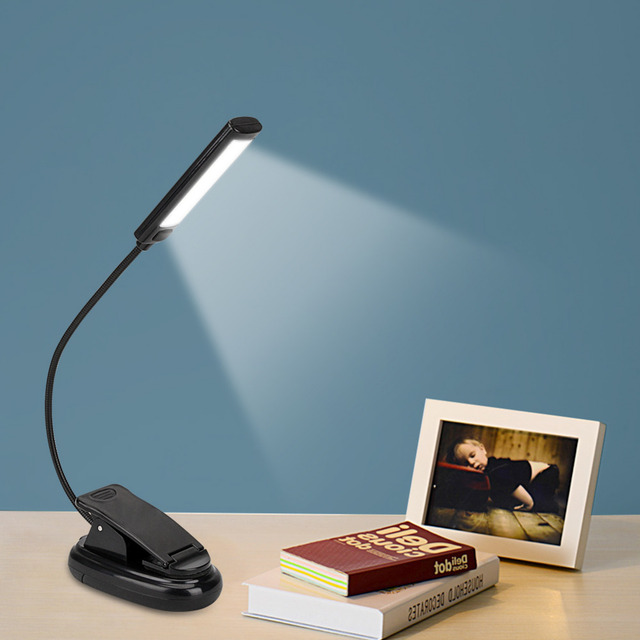 Mini Adjustable Reading Super Bright Light Lamp