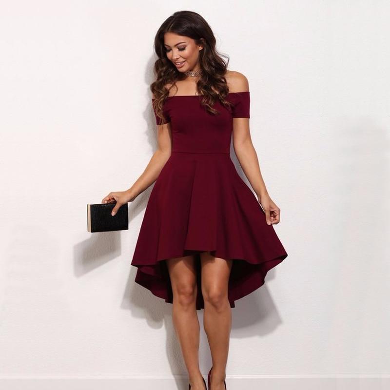 Sexy off shoulder dress